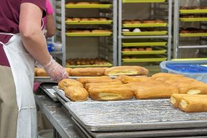 Making Donuts at Yoder's Country Market in Centreville, MI