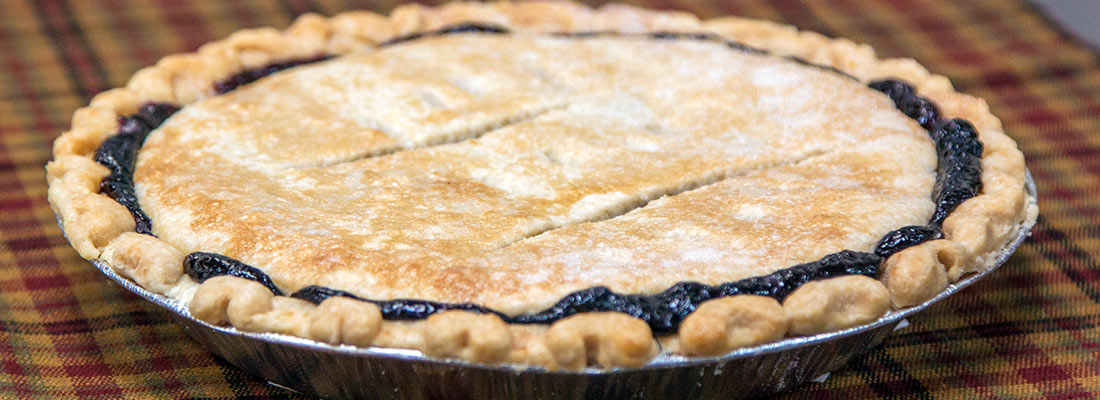 Fresh-made pies at Yoder's Country Market in Centreville, MI