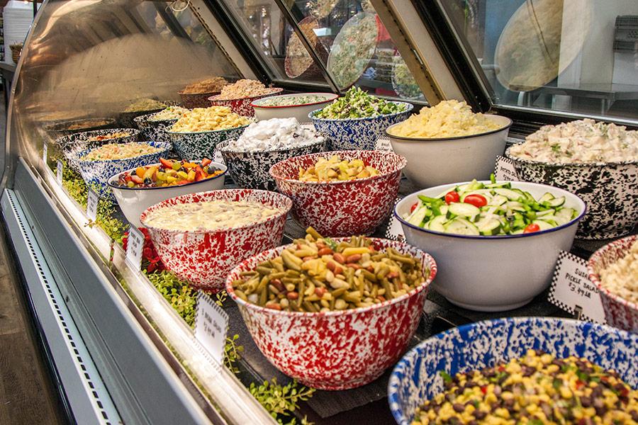 Salads at Yoder