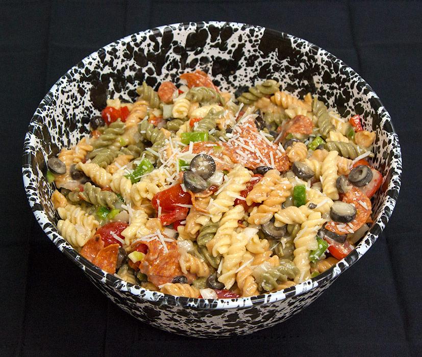 Pasta Salad at Yoder