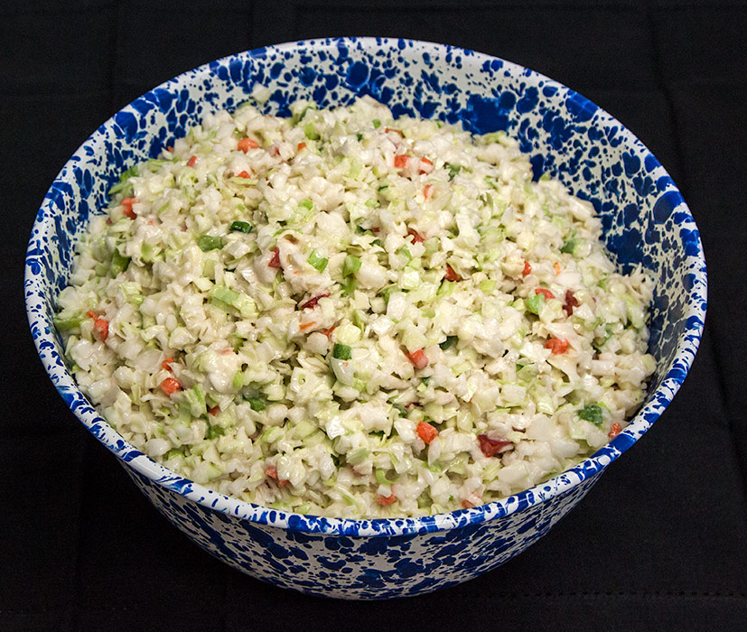 Creamy Coleslaw at Yoder