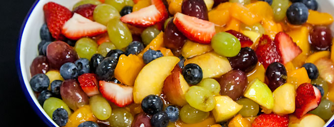 Fresh Fruit Salad at Yoder's Country Market in Centreville
