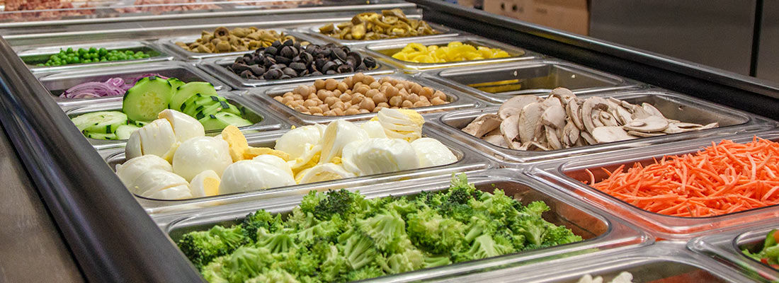 Salad Bar at Yoder's Country Market